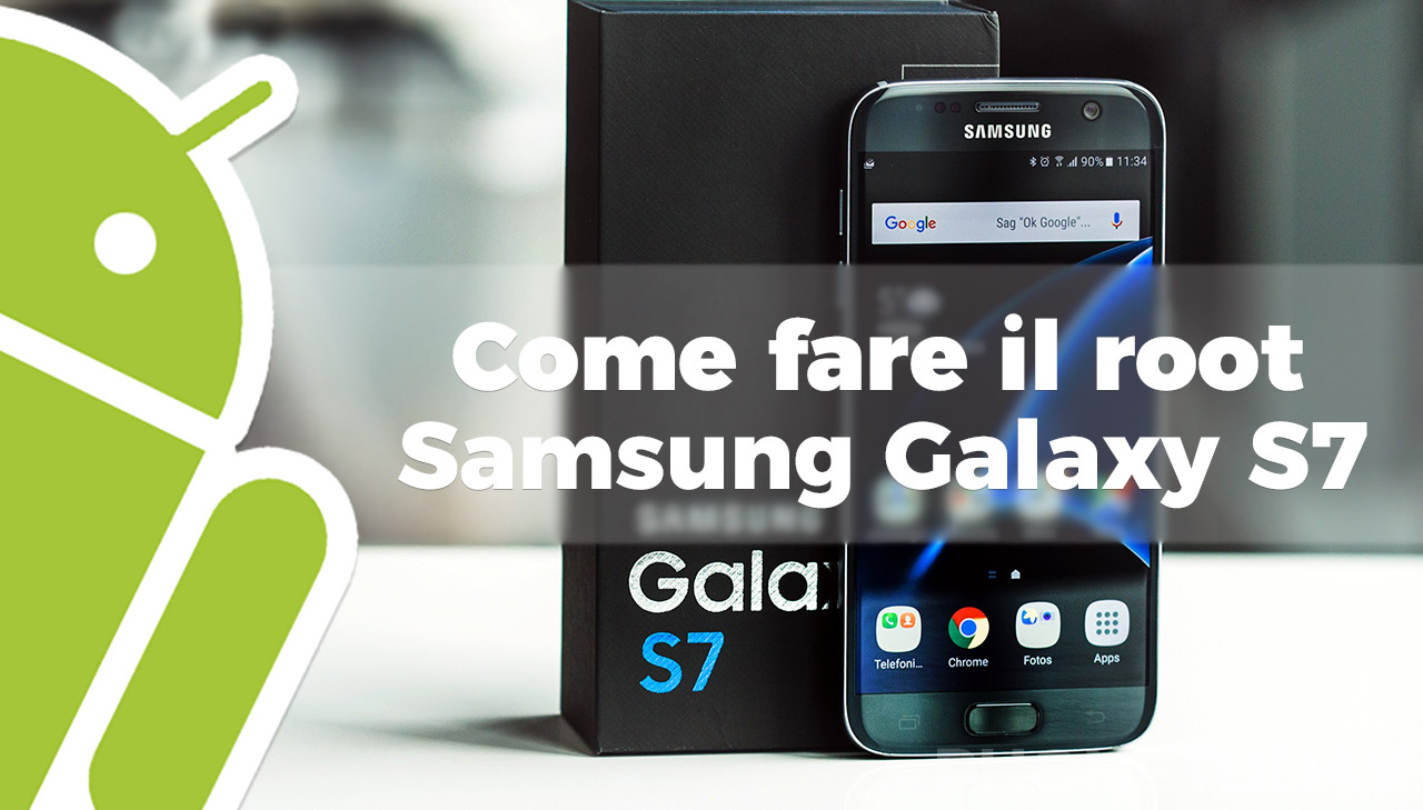 In distribuzione Android 7.0 per Samsung Galaxy S7