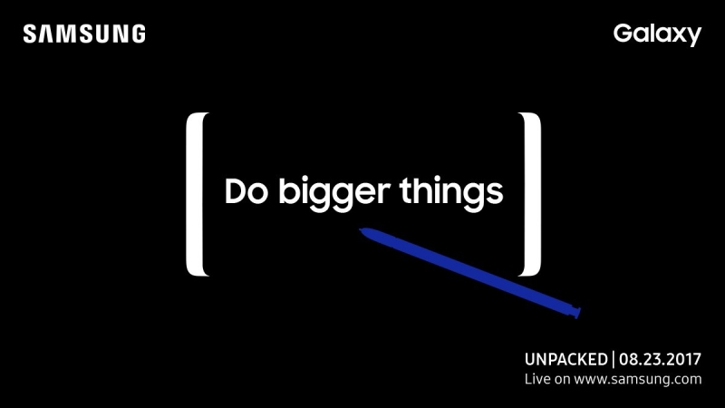 Samsung Galaxy Note 8 verrà presentato il 23 Agosto a New York