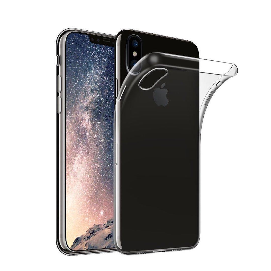 cover iPhone X in TPU