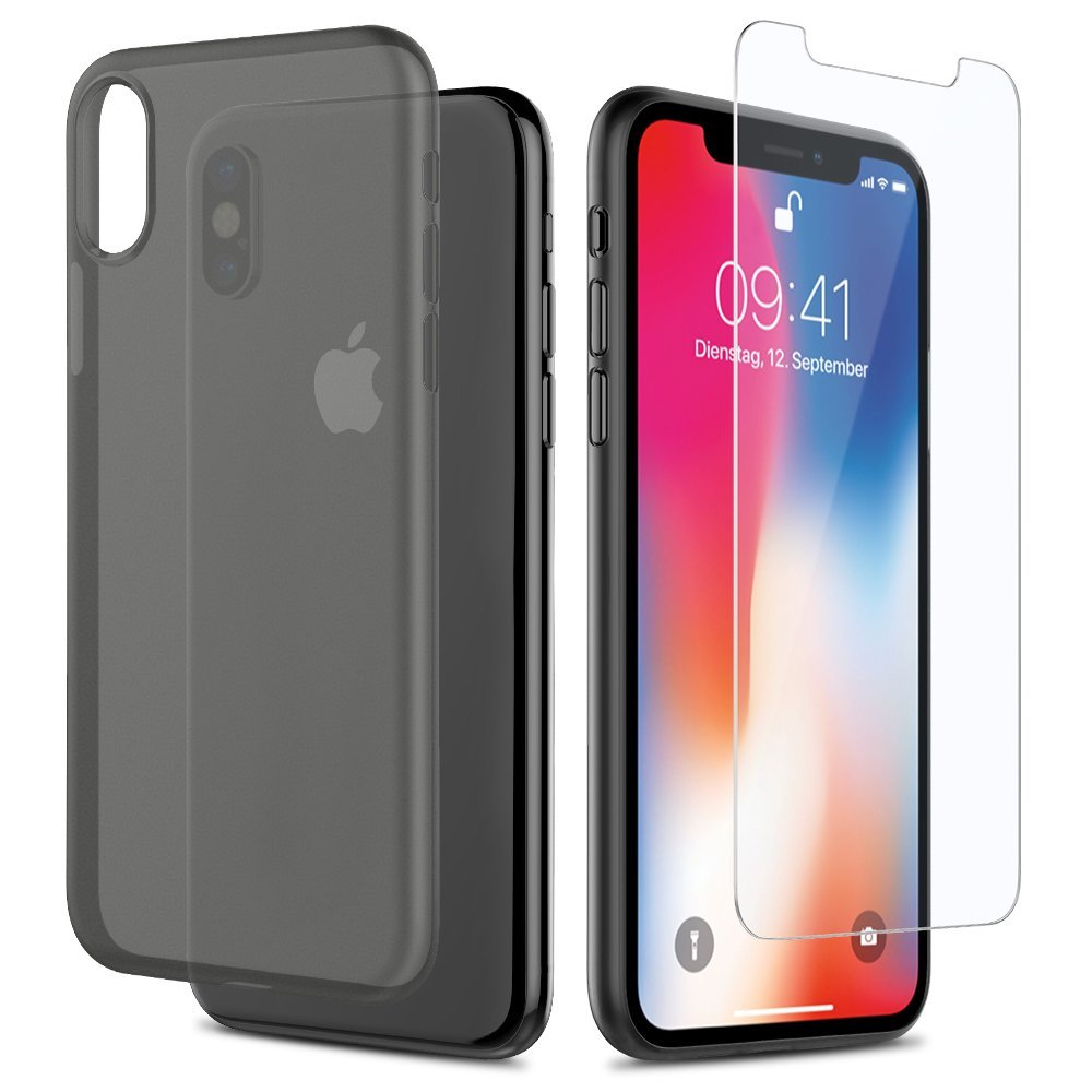 custodia vetro iphone x