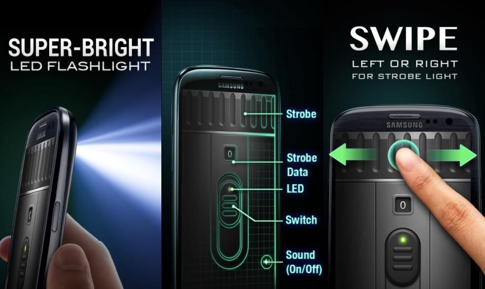 Torcia Gratis LED Super luminosa per Android e iOS