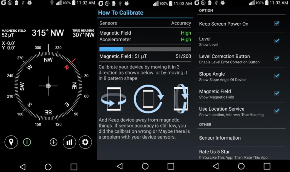 Bussola Gratis Super Accurata per Android