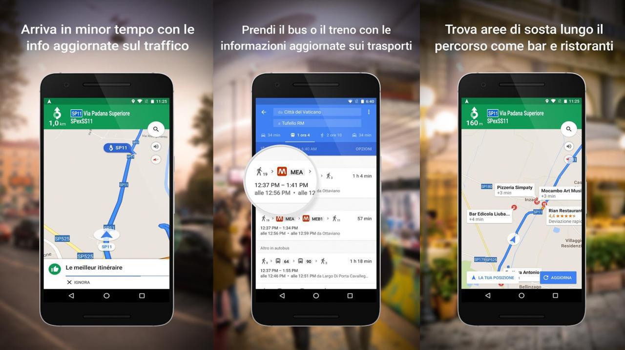 Google Maps navigatore online e offline per Android e iPhone