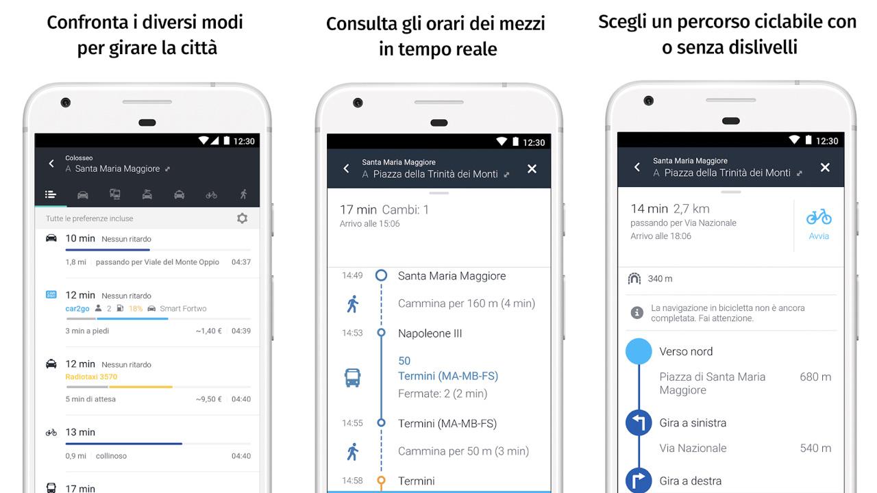 Here WeGo navigatore satellitare gratis per Android e iPhone