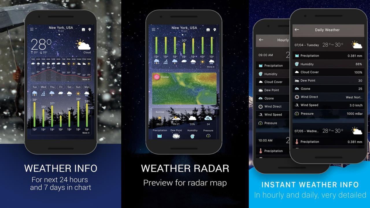 Widget il meteo gratis per android