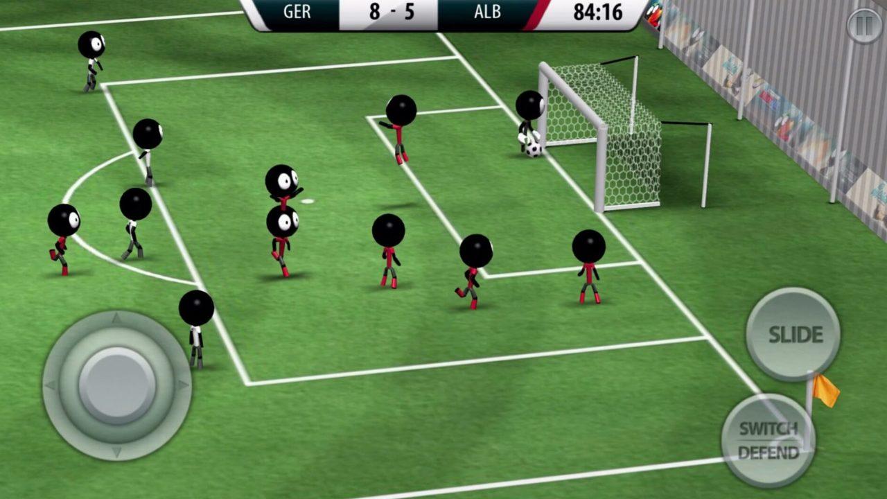 Stickman Soccer, il gioco di calcio per Android e iPhone