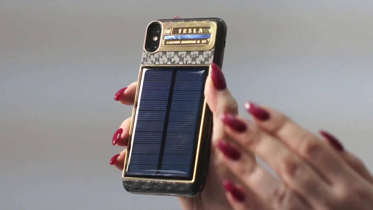 Pannello Solare Per Iphone : Iphone tesla con pannello solare ad un prezzo fuori dal