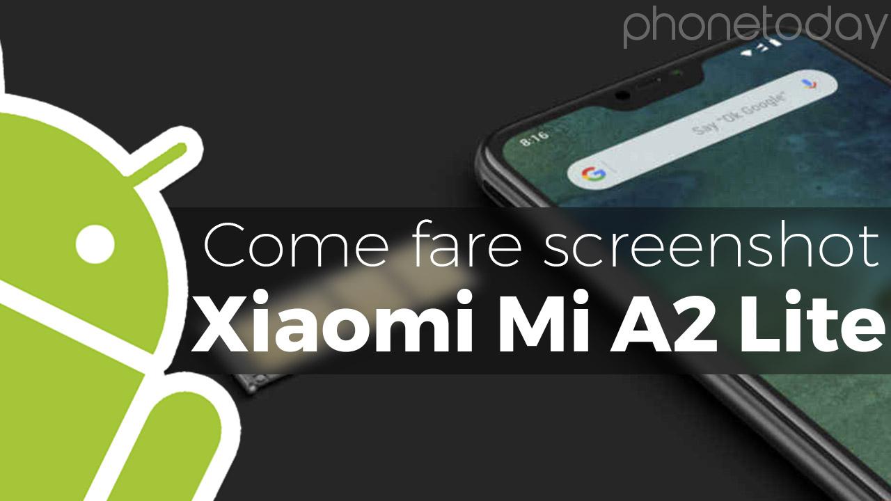 Come fare screenshot su Xiaomi - Guideitech: le migliori ...