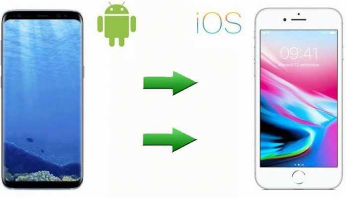trasferire contatti da Android ad iPhone