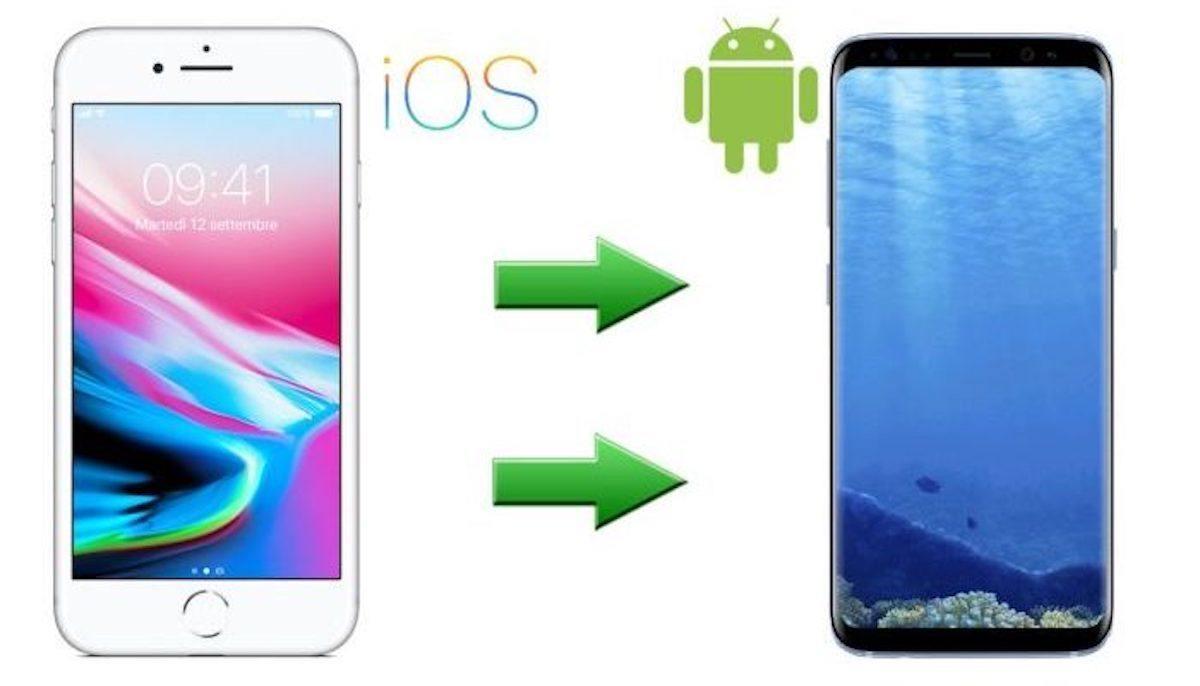 trasferire contatti da iPhone a Android