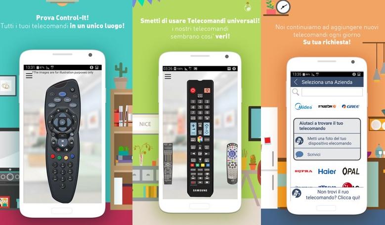 Android come telecomando della TV