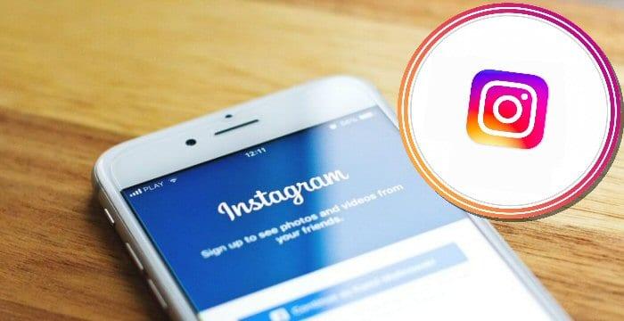 instagram cerchio foto