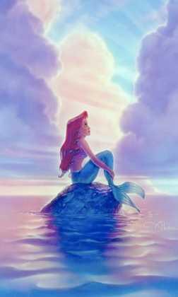 Sfondo WhatsApp Disney Sirenetta