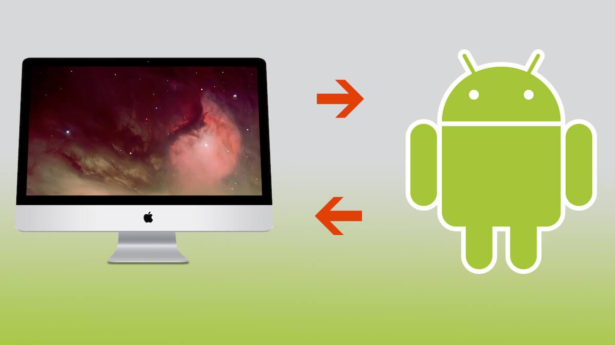trasferire file da android a mac
