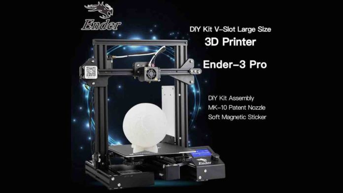 Stampante 3D Ender 3 Pro
