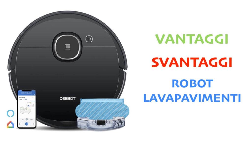 pro contro robot lavapavimenti