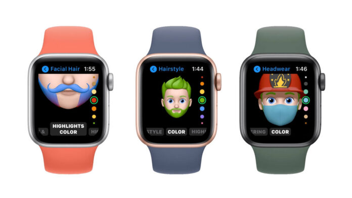Memoji su Apple Watch